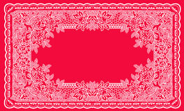 Pagina lace-like Immagini Stock