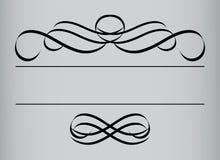 Pagina nello stile dell'annata. Interno simmetrico. Vettore I Fotografie Stock Libere da Diritti