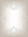 Pagina nello stile di Art Nouveau Fotografia Stock Libera da Diritti