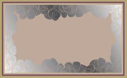 Pagina nello stile di arte-deco illustrazione di stock