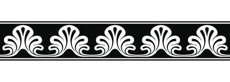 Pagina nello stile greco illustrazione di stock