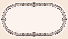 Pagina nello stile greco royalty illustrazione gratis