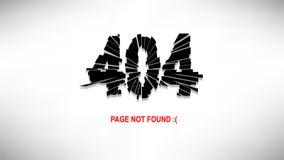 Pagina non trovata Immagine Stock Libera da Diritti