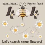 Pagina non trovata messaggio di errore 404 per il sito Web Fotografia Stock Libera da Diritti