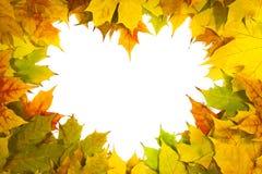 Pagina per formare il cuore Fotografia Stock Libera da Diritti
