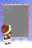 Pagina per il nuovo anno e per le memorie di inverno. Immagine Stock