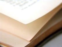 Pagina's van boek Stock Afbeelding