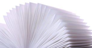 Pagina's van een boek Royalty-vrije Stock Fotografie