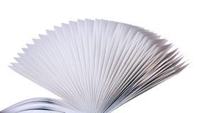 Pagina's van een boek Stock Foto's