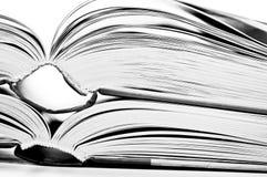 Pagina's van een boek royalty-vrije stock foto's