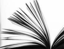 Pagina's van een boek royalty-vrije stock afbeelding