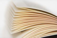 Pagina's van een boek Royalty-vrije Stock Afbeeldingen