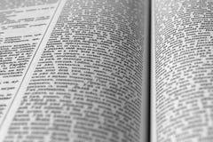 Pagina's van het boek Royalty-vrije Stock Afbeeldingen