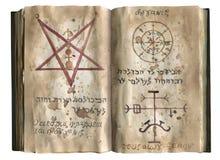 Het boek van Necronomicon Royalty-vrije Stock Foto's
