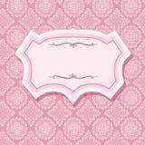 Pagina sui modelli nel rosa pastello Immagine Stock Libera da Diritti