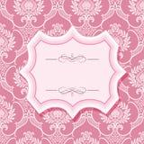 Pagina sui modelli nel rosa pastello Fotografie Stock Libere da Diritti