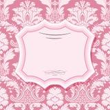Pagina sui modelli nel rosa pastello Fotografia Stock