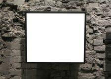 Pagina sulla parete di mattoni Immagini Stock Libere da Diritti