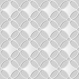 pagina trasversale rotonda del fiore della curva di arte del Libro Bianco 3D Fotografia Stock