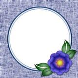 Pagina una foto del fiore Fotografie Stock Libere da Diritti
