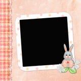 Paginación de cubierta para el álbum de los niños Imágenes de archivo libres de regalías