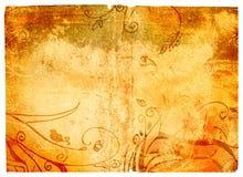Paginación de Grunge con textura Imágenes de archivo libres de regalías