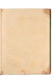 Paginación de Grunge del libro viejo Imagenes de archivo