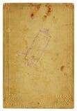 Paginación de papel vieja Imagen de archivo libre de regalías