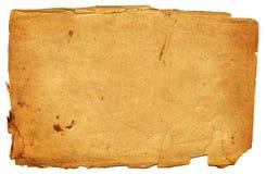 Paginación de papel vieja Imagen de archivo