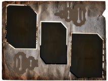 Paginación del álbum de Grunge Imagen de archivo libre de regalías