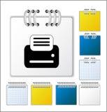 Paginación del cuaderno Fotografía de archivo libre de regalías