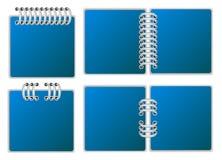 Paginación del cuaderno Fotos de archivo libres de regalías