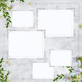 Paginación del libro de recuerdos Imagen de archivo libre de regalías