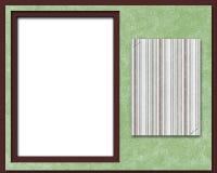 Paginación, marco o tarjeta del libro de recuerdos stock de ilustración