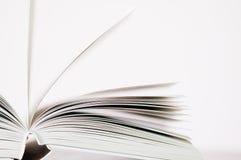 Paginaciones de un libro foto de archivo
