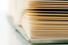 Paginaciones de un libro 6 fotos de archivo