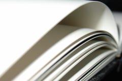 Paginaciones de un libro Imágenes de archivo libres de regalías