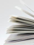 Paginaciones de un libro Fotos de archivo libres de regalías