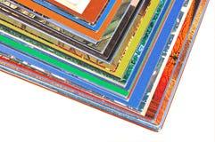 Paginaciones del color fotos de archivo