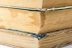 Paginaciones del libro viejo fotografía de archivo libre de regalías