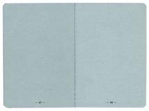 Paginaciones del pasaporte Imagen de archivo libre de regalías