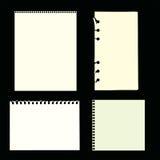 Paginaciones en blanco Foto de archivo