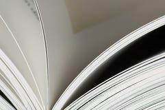 Paginaciones en un libro Fotos de archivo libres de regalías