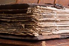 Paginaciones medievales fotos de archivo