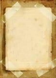 Paginaciones viejas Fotografía de archivo libre de regalías
