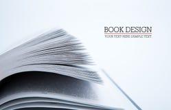 Pagine del libro Fotografia Stock
