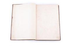 Pagine del libro dell'annata Fotografia Stock
