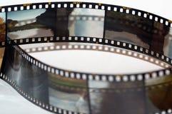 Pagine della pellicola della trasparenza fotografia stock libera da diritti