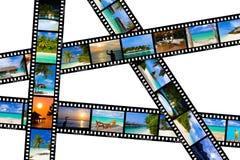 Pagine della pellicola - natura e corsa (le mie foto) Fotografia Stock