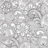 Pagine di coloritura per gli adulti royalty illustrazione gratis